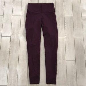 Fabletics maroon leggings